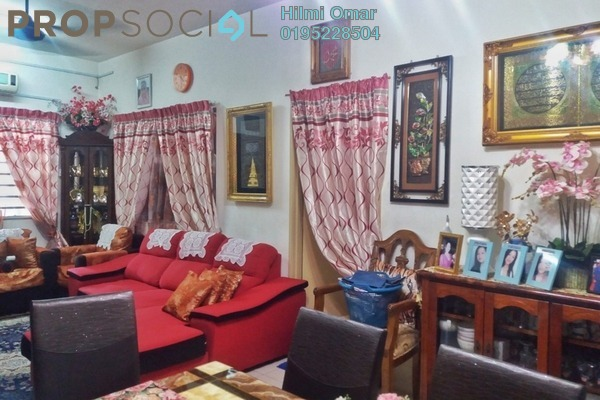 For Sale Townhouse at Bandar Country Homes, Rawang Freehold Semi Furnished 3R/2B 270k
