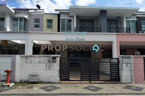 For Sale Terrace at Tiara Lake Park, Ipoh Freehold Unfurnished 4R/4B 360k