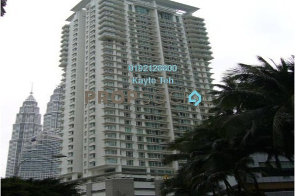 For Sale Serviced Residence at Binjai Residency, KLCC Freehold Semi Furnished 4R/5B 2.35m