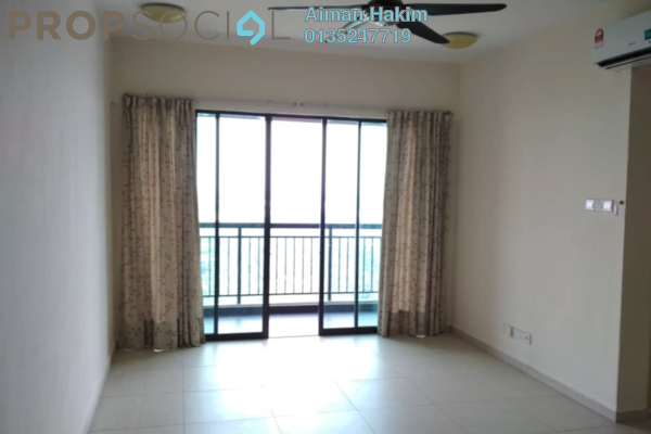 For Sale Condominium at Serin Residency, Cyberjaya Freehold Semi Furnished 3R/2B 420k