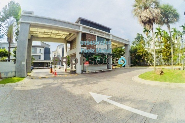 For Sale Semi-Detached at Kota Harmoni, Shah Alam Freehold Fully Furnished 6R/6B 1.8m