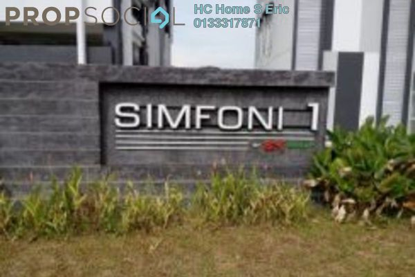 For Rent Condominium at Symphony Residence, Kajang Freehold Unfurnished 3R/2B 950translationmissing:en.pricing.unit