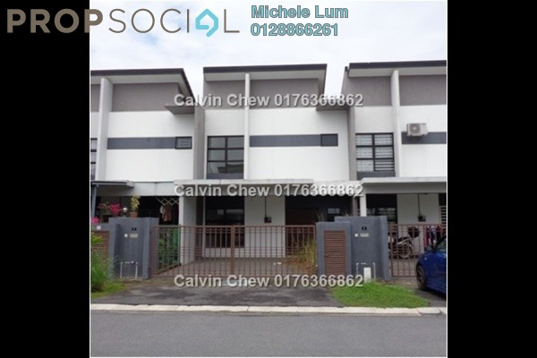 For Sale Terrace at Saujana Rawang, Rawang Freehold Unfurnished 4R/3B 415k
