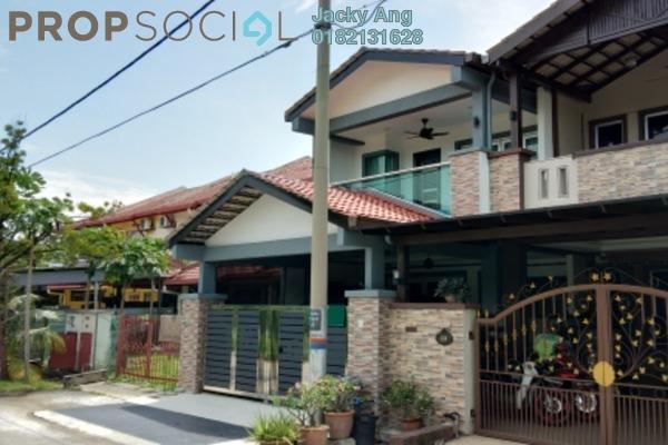 For Sale Terrace at PU5, Bandar Puchong Utama Freehold Semi Furnished 4R/3B 387k