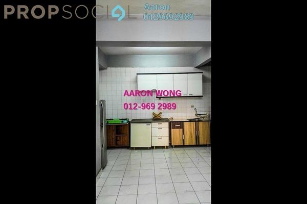 For Rent Condominium at Setapak Ria Condominium, Setapak Freehold Semi Furnished 3R/2B 1.4k