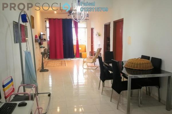 For Sale Apartment at Larkin Indah, Johor Bahru Freehold Semi Furnished 3R/2B 270k