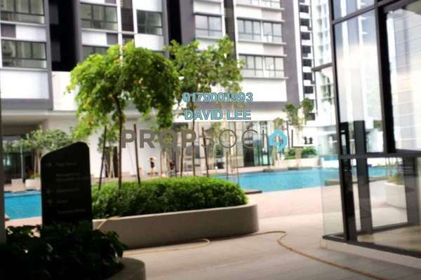For Rent Condominium at D'Sara Sentral, Sungai Buloh Freehold Semi Furnished 3R/2B 1.5k