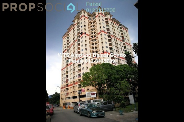 For Sale Condominium at Ampang Damai, Ampang Freehold Semi Furnished 3R/2B 380k