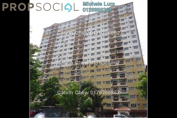 For Sale Condominium at Laksamana Puri, Batu Caves Leasehold Unfurnished 3R/2B 265k