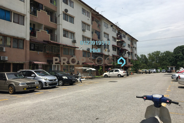 For Sale Apartment at Sri Anggerik 2, Bandar Kinrara Freehold Unfurnished 3R/2B 210k