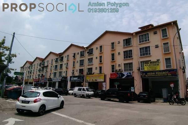 For Sale Shop at Section 7, Shah Alam Freehold Semi Furnished 3R/2B 230k