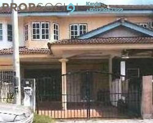 For Sale Terrace at Bandar Baru Puspa, Perak Leasehold Semi Furnished 3R/1B 230k
