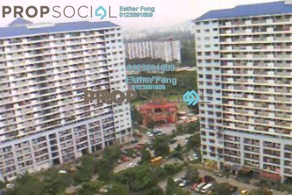 For Sale Apartment at Danau Kota, Setapak Freehold Semi Furnished 3R/1B 170k