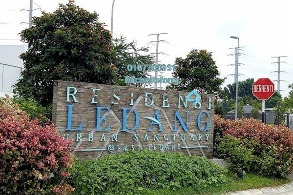 For Sale Townhouse at East Ledang, Iskandar Puteri (Nusajaya) Freehold Semi Furnished 3R/3B 950k