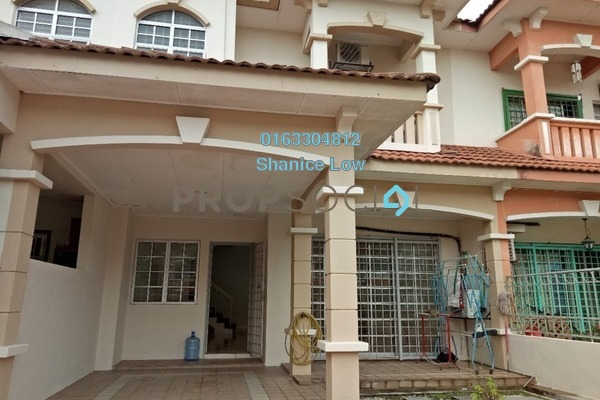For Sale Terrace at Puteri 12, Bandar Puteri Puchong Freehold Semi Furnished 4R/3B 835k