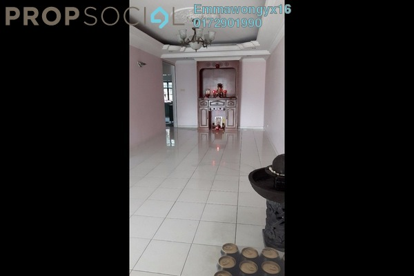 For Sale Terrace at Taman Ehsan, Kepong Freehold Semi Furnished 3R/2B 1.1m