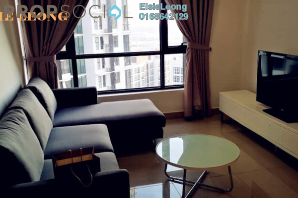 For Rent Serviced Residence at Eclipse Residence @ Pan'gaea, Cyberjaya Freehold Fully Furnished 2R/2B 1.5k