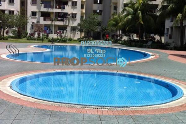 For Sale Condominium at Pandan Court, Pandan Indah Freehold Unfurnished 3R/2B 328k