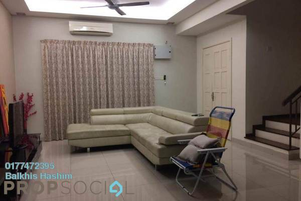 For Rent Terrace at Meranti Terrace, Kota Kemuning Freehold Fully Furnished 4R/4B 2k