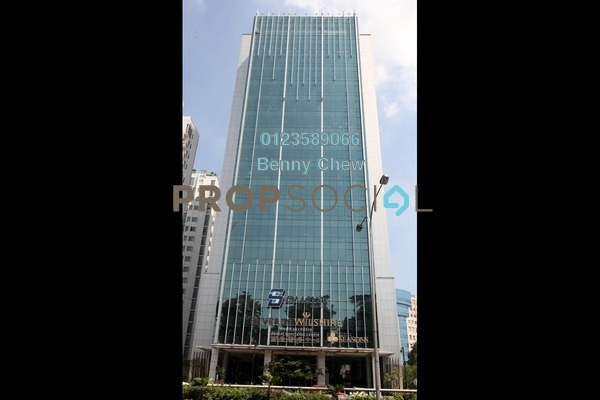 For Rent Office at Dijaya Plaza, KLCC Freehold Semi Furnished 0R/0B 48k