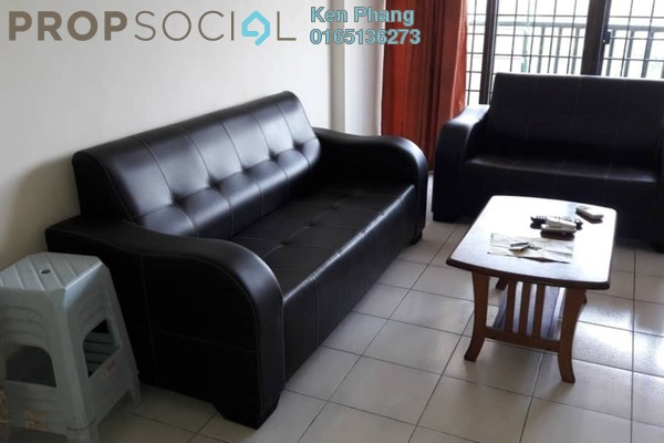 For Sale Condominium at Anjung Hijau, Bukit Jalil Freehold Fully Furnished 3R/2B 430k