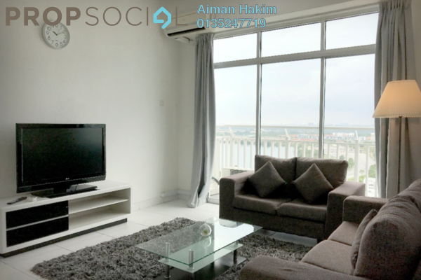 For Rent Serviced Residence at BSP Skypark, Bandar Saujana Putra Freehold Fully Furnished 4R/3B 2k