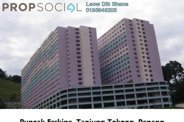 For Rent Condominium at Puncak Erskine, Tanjung Tokong Freehold Unfurnished 3R/2B 650translationmissing:en.pricing.unit
