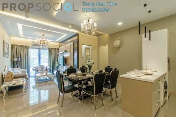 For Sale Serviced Residence at Jalan Sungai Besi, Kuala Lumpur Freehold Semi Furnished 3R/2B 580k