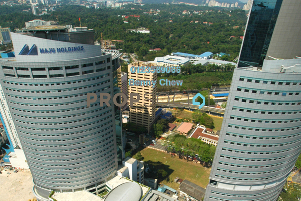 For Rent Office at Maju Tower, Dang Wangi Freehold Semi Furnished 0R/0B 15.4k