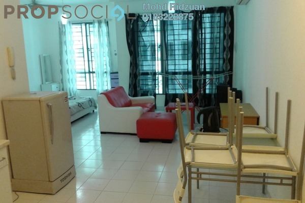 For Rent Serviced Residence at Casa Tiara, Subang Jaya Freehold Fully Furnished 1R/1B 1.4k