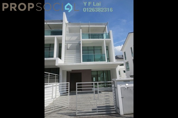 For Sale Terrace at Kinrara Residence, Bandar Kinrara Freehold Semi Furnished 4R/4B 1.15m