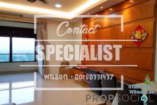 For Rent Condominium at Nadia, Desa ParkCity Freehold Semi Furnished 3R/3B 4k