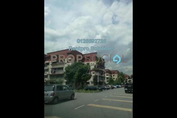 For Rent Apartment at Pandan Jaya, Pandan Indah Freehold Unfurnished 3R/1B 1.2k