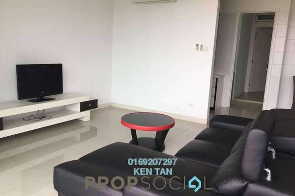 For Rent Condominium at Le Yuan Residence, Kuchai Lama Freehold Semi Furnished 4R/4B 3.2k