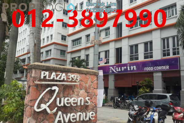 For Sale Condominium at Plaza 393, Cheras Freehold Semi Furnished 2R/1B 340k