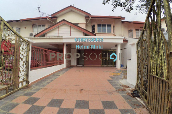 For Sale Terrace at Desa Coalfields, Sungai Buloh Freehold Semi Furnished 4R/3B 499k