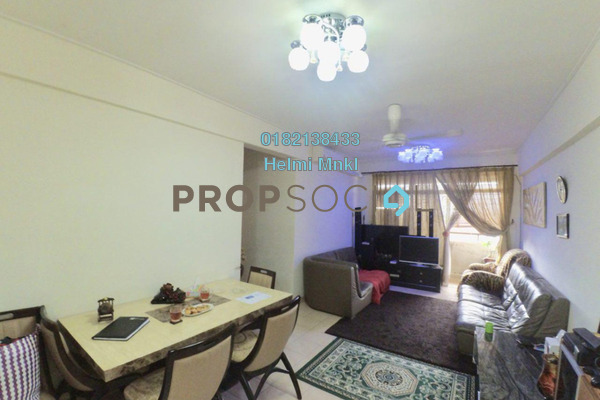 For Sale Condominium at Putra Intan, Dengkil Freehold Semi Furnished 3R/2B 275k