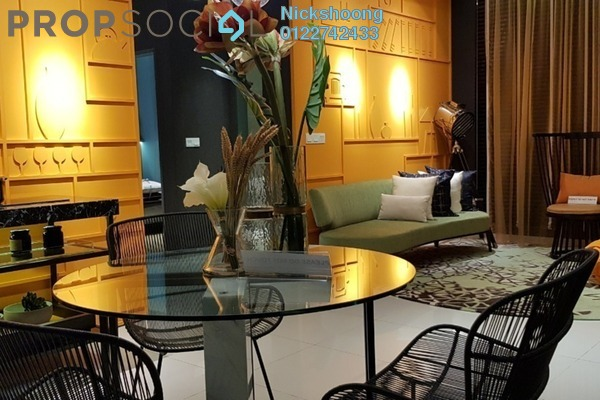 For Sale Condominium at M Centura, Sentul Freehold Unfurnished 2R/1B 350k