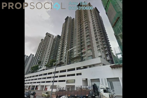 For Sale Serviced Residence at Greenz @ One South, Seri Kembangan Leasehold Semi Furnished 3R/1B 650k