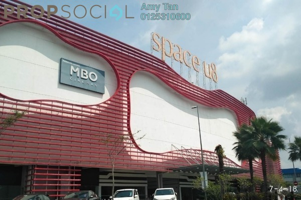 For Sale Office at Space U8, Bukit Jelutong Freehold Semi Furnished 0R/0B 496k