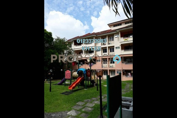For Rent Townhouse at Pelangi Heights, Klang Freehold Fully Furnished 3R/2B 1.3k
