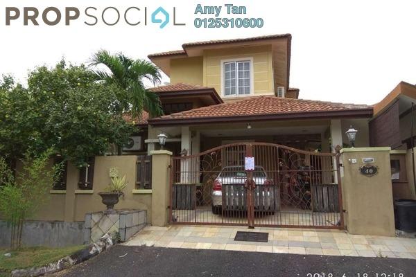 For Sale Semi-Detached at Seksyen 6, Bandar Bukit Mahkota Freehold Semi Furnished 4R/2B 860k