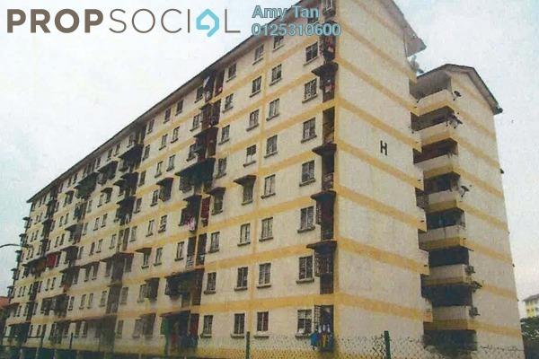 For Sale Apartment at Taman Impian Indah, Balakong Freehold Semi Furnished 3R/1B 110k