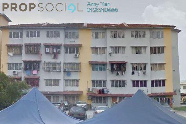 For Sale Apartment at Anggerik Apartment, Kajang Freehold Semi Furnished 3R/1B 170k