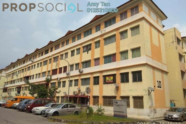 For Sale Apartment at Impian Flat, Bandar Saujana Putra Leasehold Semi Furnished 3R/1B 72k