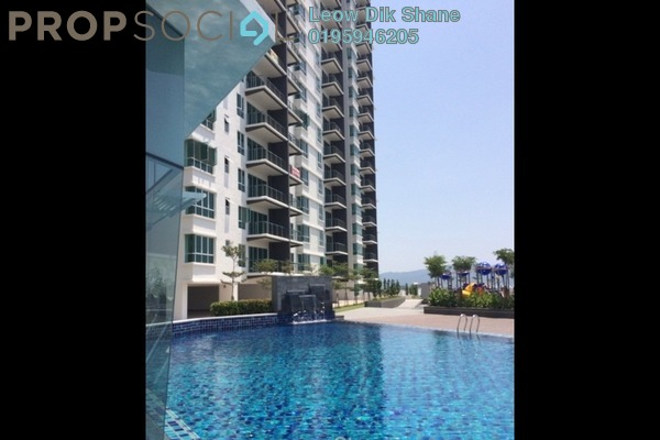 For Rent Condominium at Elit Heights, Bayan Baru Freehold Unfurnished 3R/2B 1.1k
