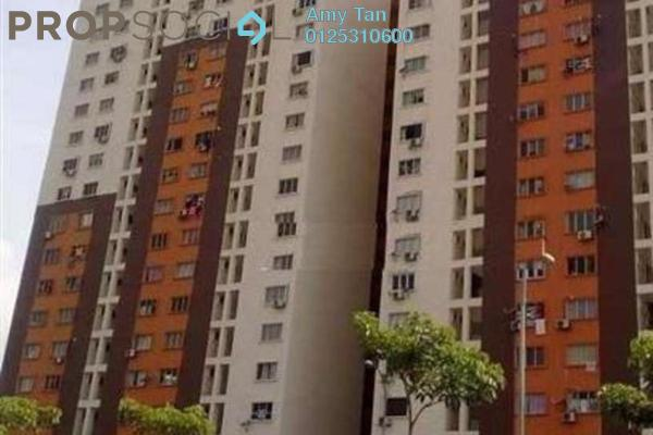 For Sale Apartment at Laman Rimbunan, Kepong Freehold Semi Furnished 3R/1B 190k