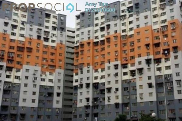 For Sale Apartment at Sri Penara, Bandar Sri Permaisuri Freehold Semi Furnished 3R/1B 200k