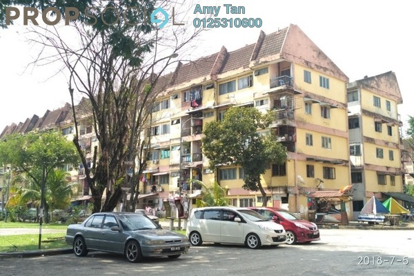 For Sale Apartment at Valencia Apartment, Shah Alam Leasehold Semi Furnished 3R/1B 69.3k