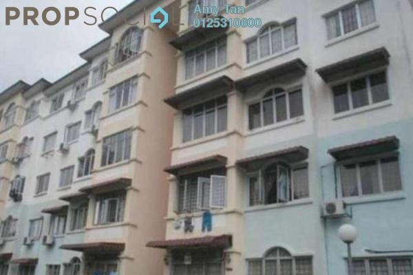 For Sale Apartment at Waja Apartment, Cheras South Freehold Semi Furnished 3R/1B 194k